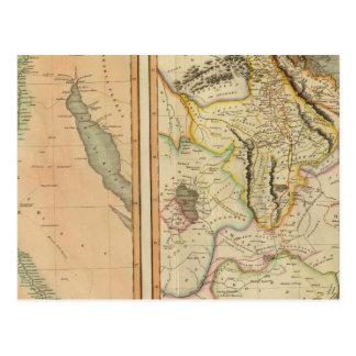 Egipto, Abyssinia Postales