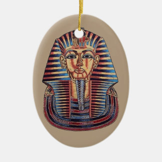 EGIPTO ADORNO NAVIDEÑO OVALADO DE CERÁMICA