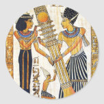 Egipto antiguo 1 etiquetas redondas