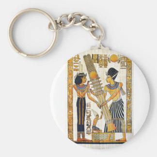 Egipto antiguo 1 llavero redondo tipo pin