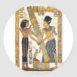 Egipto antiguo 1 pegatinas redondas