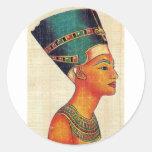 Egipto antiguo 2 pegatinas redondas