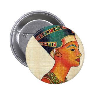 Egipto antiguo 2 pin redondo de 2 pulgadas