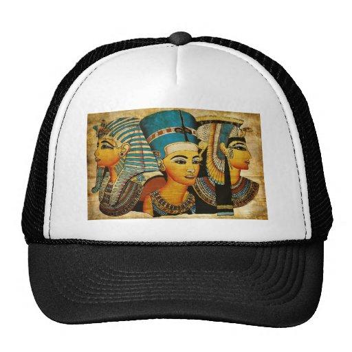 Egipto antiguo 3 gorros bordados