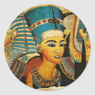 Egipto antiguo 3 pegatinas redondas