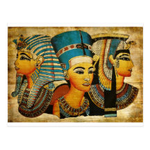 Egipto antiguo 3 postal