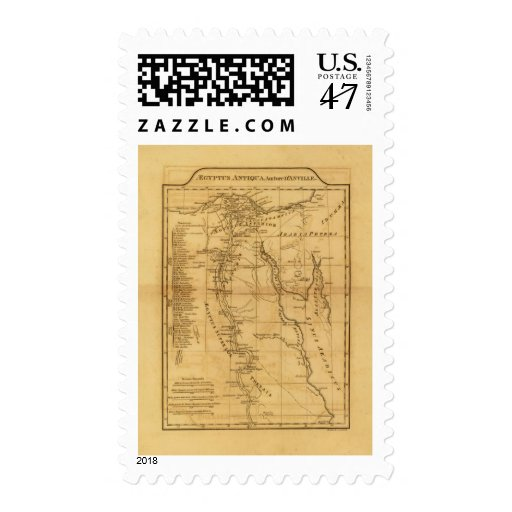 Egipto antiguo 3 sello postal