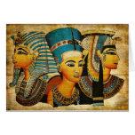 Egipto antiguo 3 tarjeta de felicitación