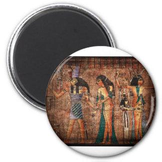 Egipto antiguo 4 imán para frigorifico