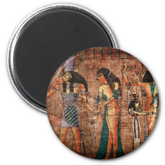 Egipto antiguo 4 imán redondo 5 cm