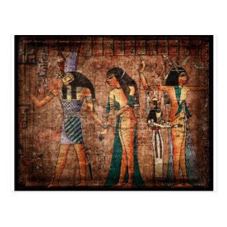 Egipto antiguo 4 postal