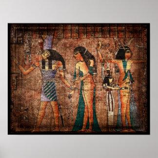 Egipto antiguo 4 póster