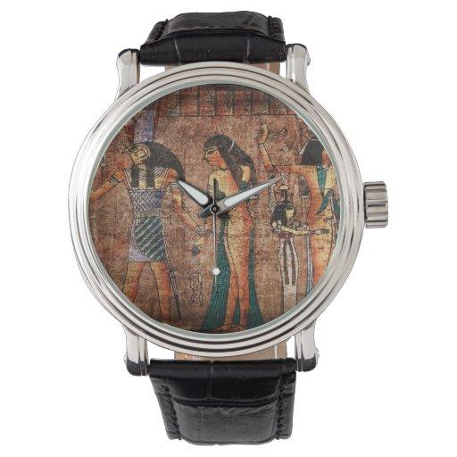 Egipto antiguo 4 relojes