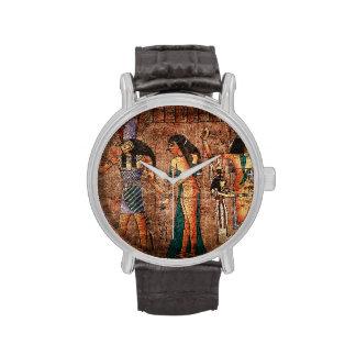 Egipto antiguo 4 relojes de mano