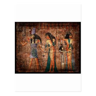 Egipto antiguo 4 tarjeta postal