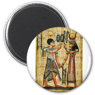 Egipto antiguo 5 imán redondo 5 cm
