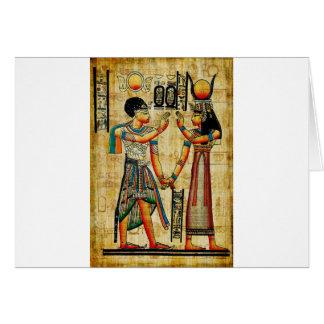 Egipto antiguo 5 tarjeton