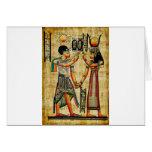 Egipto antiguo 5 tarjeta de felicitación