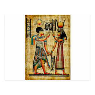 Egipto antiguo 5 postal
