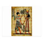Egipto antiguo 5 tarjetas postales