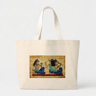 Egipto antiguo 6 bolsa tela grande
