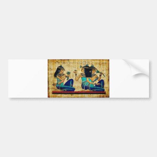 Egipto antiguo 6 etiqueta de parachoque