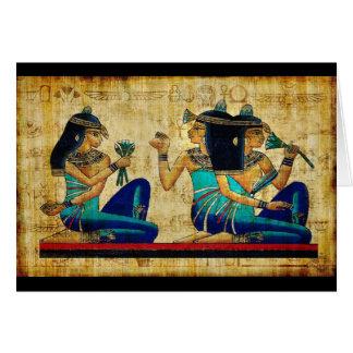 Egipto antiguo 6 tarjeta de felicitación