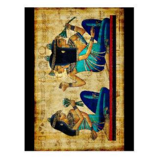 Egipto antiguo 6 tarjeta postal