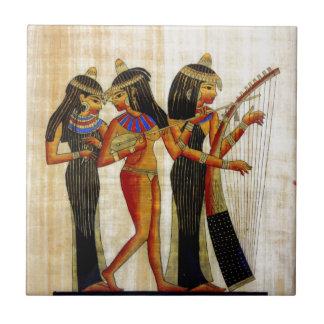 Egipto antiguo 7 azulejo cuadrado pequeño