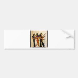 Egipto antiguo 7 etiqueta de parachoque