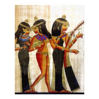 Egipto antiguo 7 plantillas de membrete