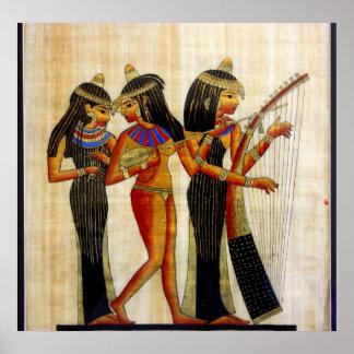 Egipto antiguo 7 póster
