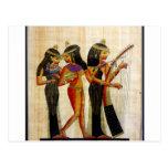 Egipto antiguo 7 tarjeta postal