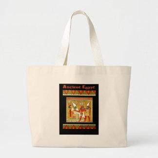 Egipto antiguo bolsa tela grande