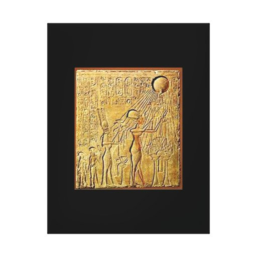 Egipto antiguo el pharaoh vol. 5 impresion de lienzo