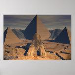 Egipto antiguo - la esfinge impresiones