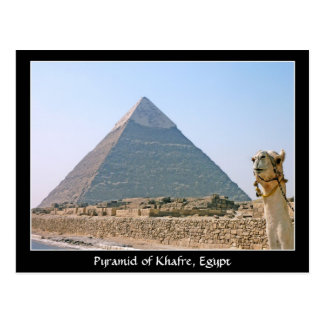 Egipto antiguo: Pirámide de Khafre, Egipto Postales