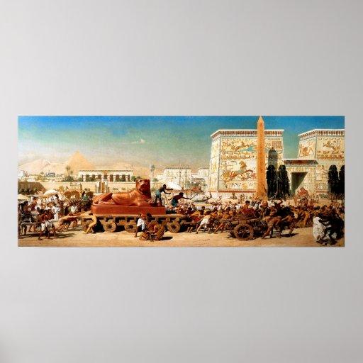Egipto antiguo póster