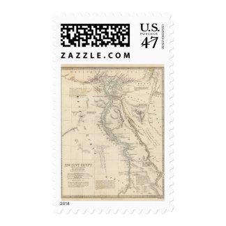 Egipto antiguo sello postal