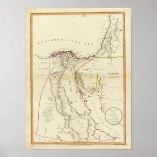 Egipto, Arabia, Palestina Póster