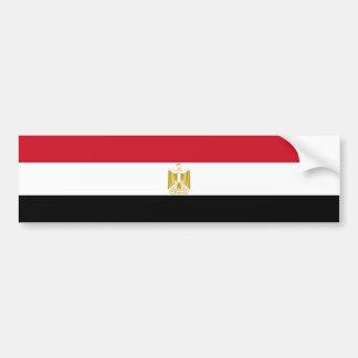 Egipto/bandera egipcia etiqueta de parachoque