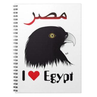 Egipto - Egypt libreta de apuntes