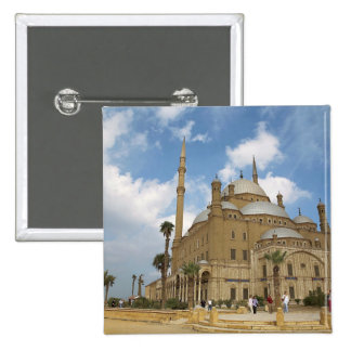 Egipto, El Cairo, ciudadela, Mohamed Ali Mosque 2 Pin Cuadrado
