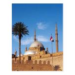 Egipto, El Cairo, ciudadela, Mohamed Ali Mosque Postal