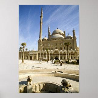 Egipto, El Cairo. La mezquita imponente de Mohamme Posters