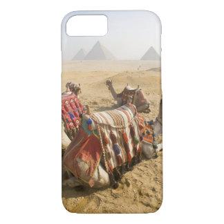 Egipto, El Cairo. Mirada de reclinación de los Funda iPhone 7