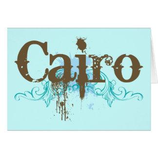 Egipto El Cairo Tarjeta De Felicitación