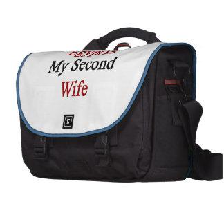 Egipto es mi segunda esposa bolsas para ordenador