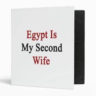 Egipto es mi segunda esposa