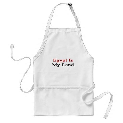 Egipto es mi tierra delantal